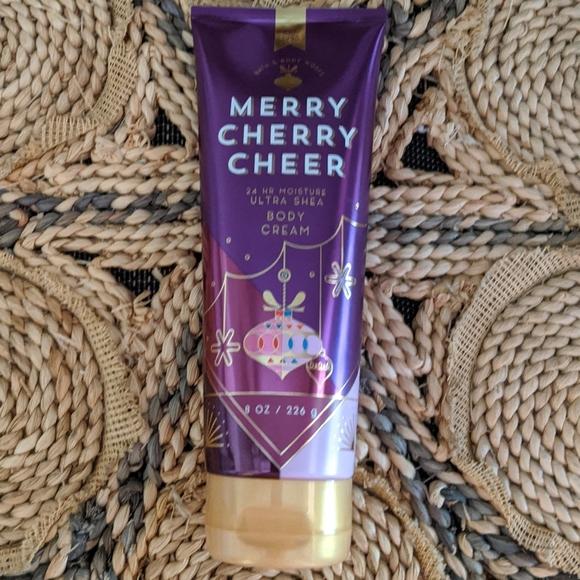 Merry cherry cheer body cream